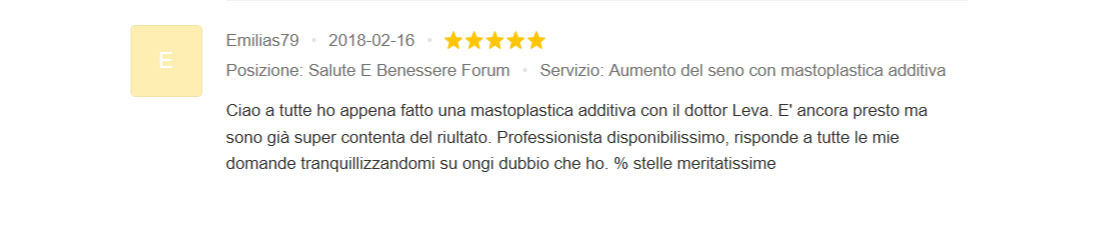 Mastoplastica Additiva Chirurgia Estetica Dottor Luca Leva